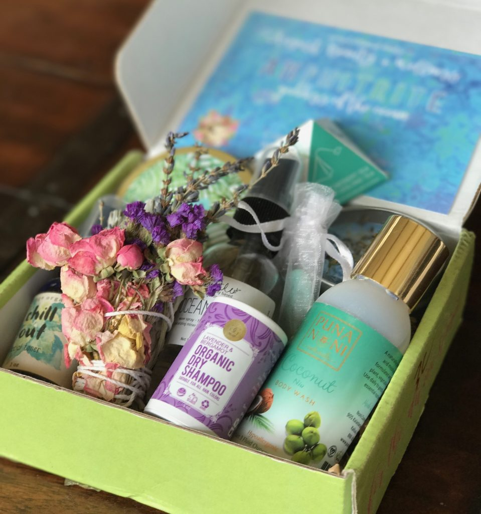 Beauty Fashion Food: Nymph Botanical Beauty Box August 2017 Review