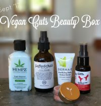 September 2017 Vegan Cuts Beauty Box Review