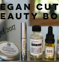 October 2017 Vegan Cuts Beauty Box Review