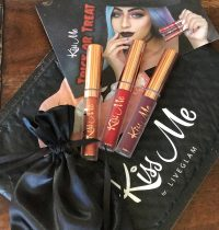 LiveGlam KissMe Lipstick Club October 2017 Review