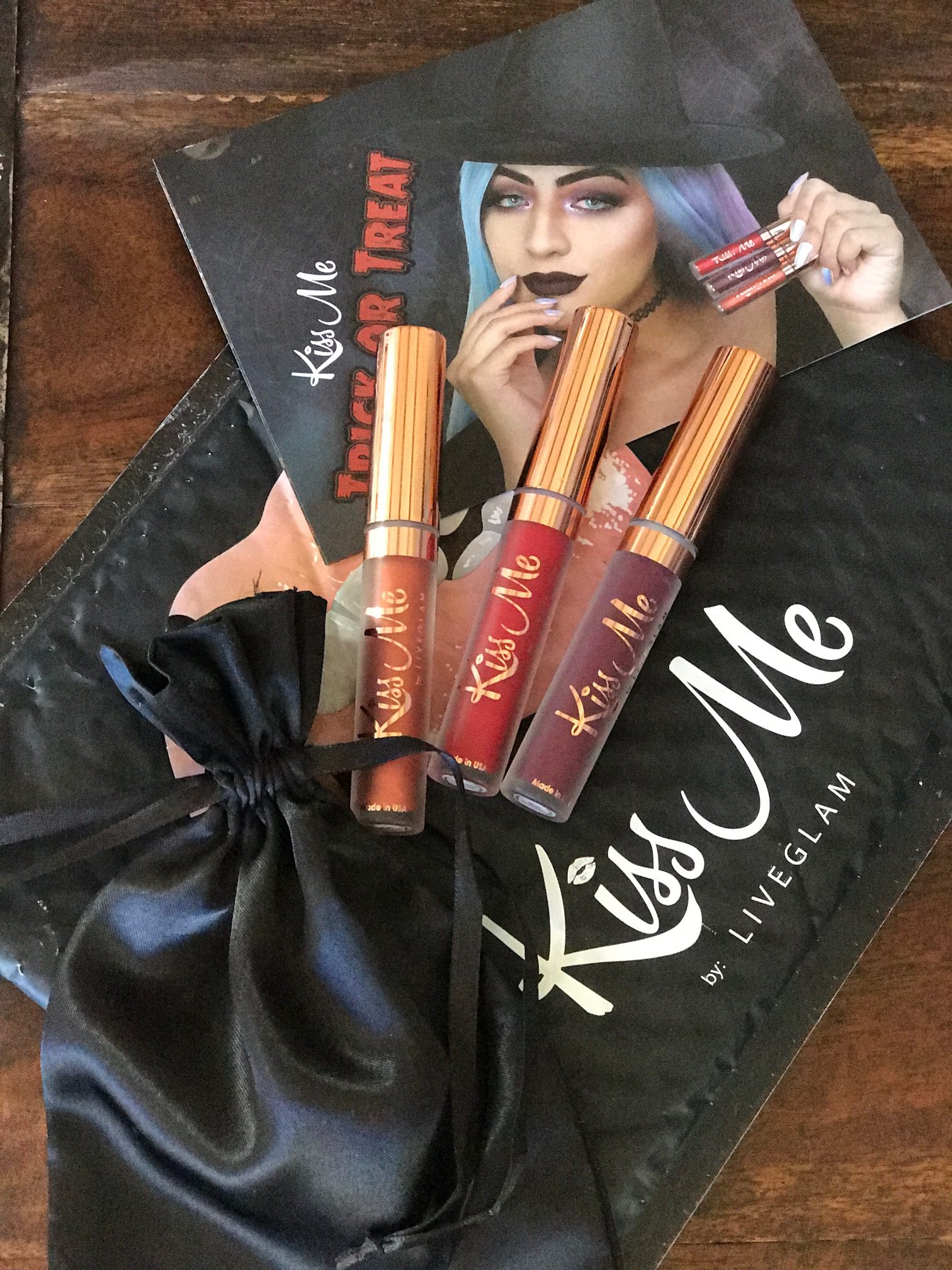 liveglam kiss me lippies
