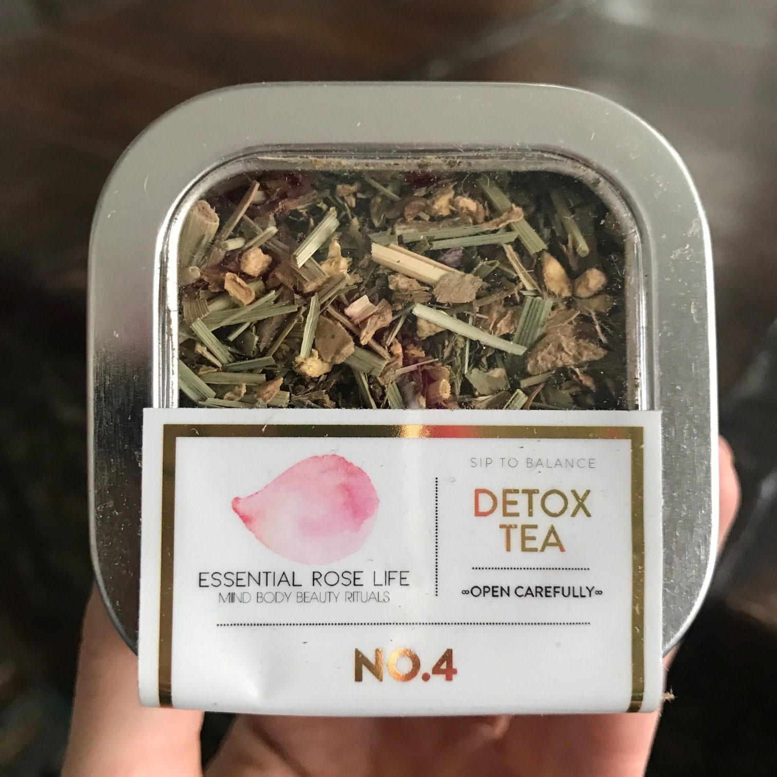 Essential Rose Life Detox Tea