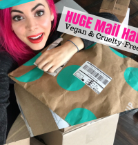 HUGE Vegan & Cruelty-Free Mail Haul [VIDEO]