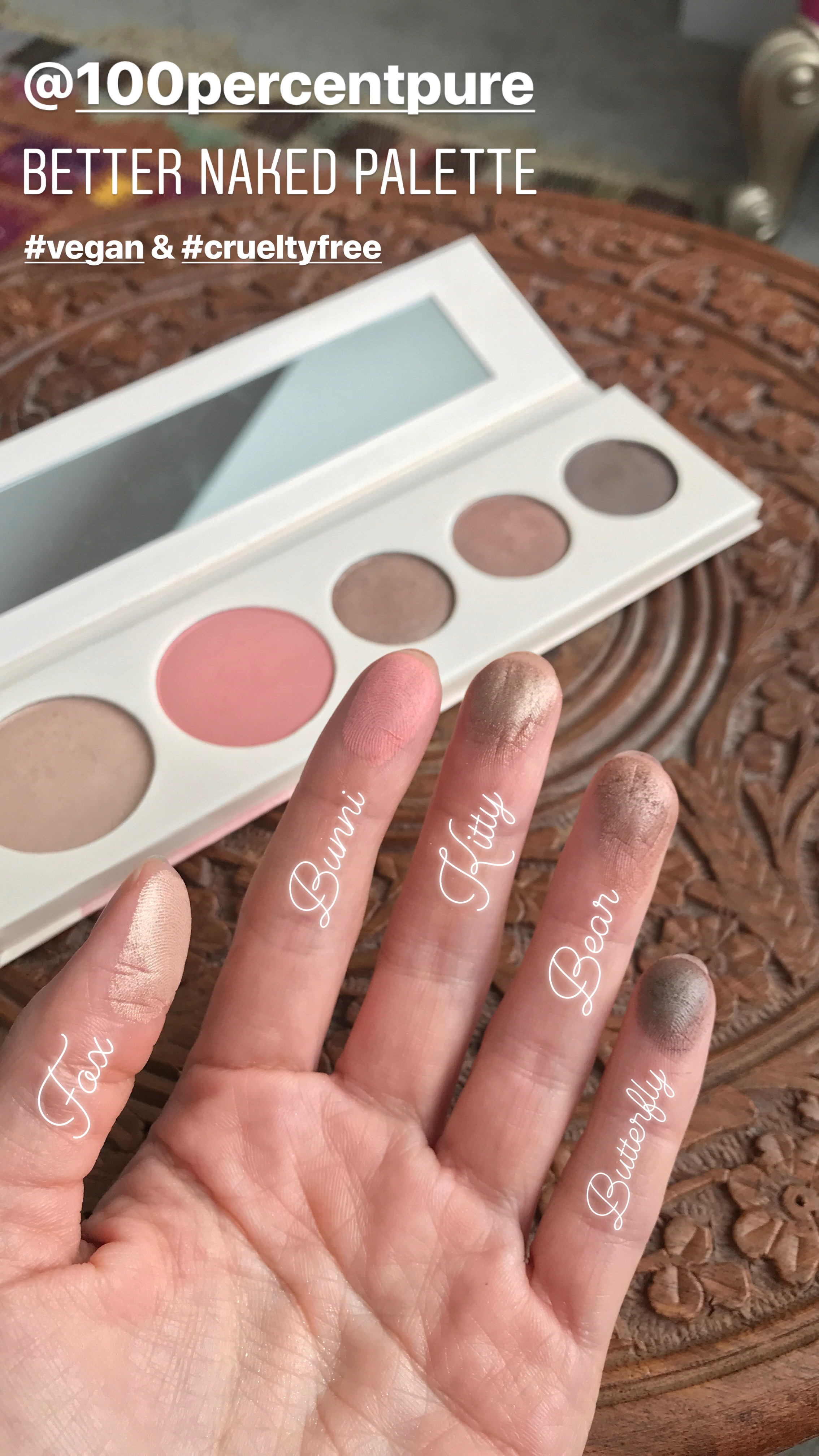 Better Naked Palette Swatches