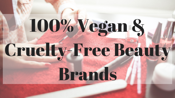 100% Vegan & Cruelty-Free Beauty Beands