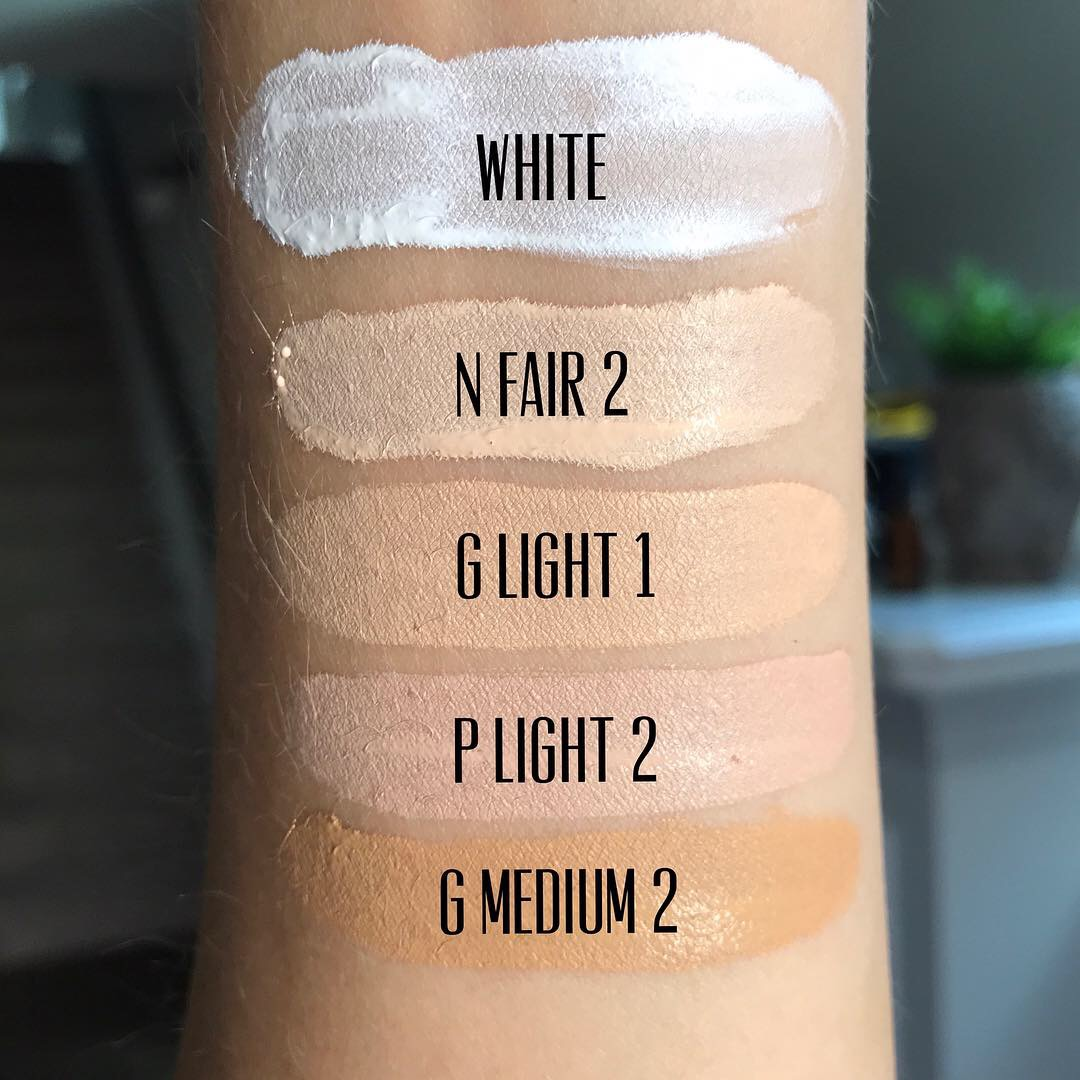 CoverFX Power Play Concealer swatches