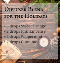 Favorite Diffuser Blend for the Holidays
