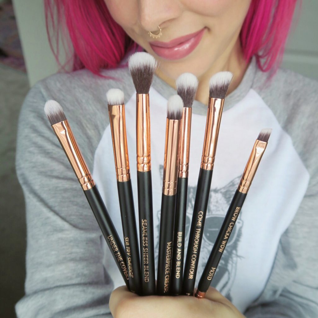M.O.T.D. Cosmetics 'Eye Can't Even' Brush Kit Review