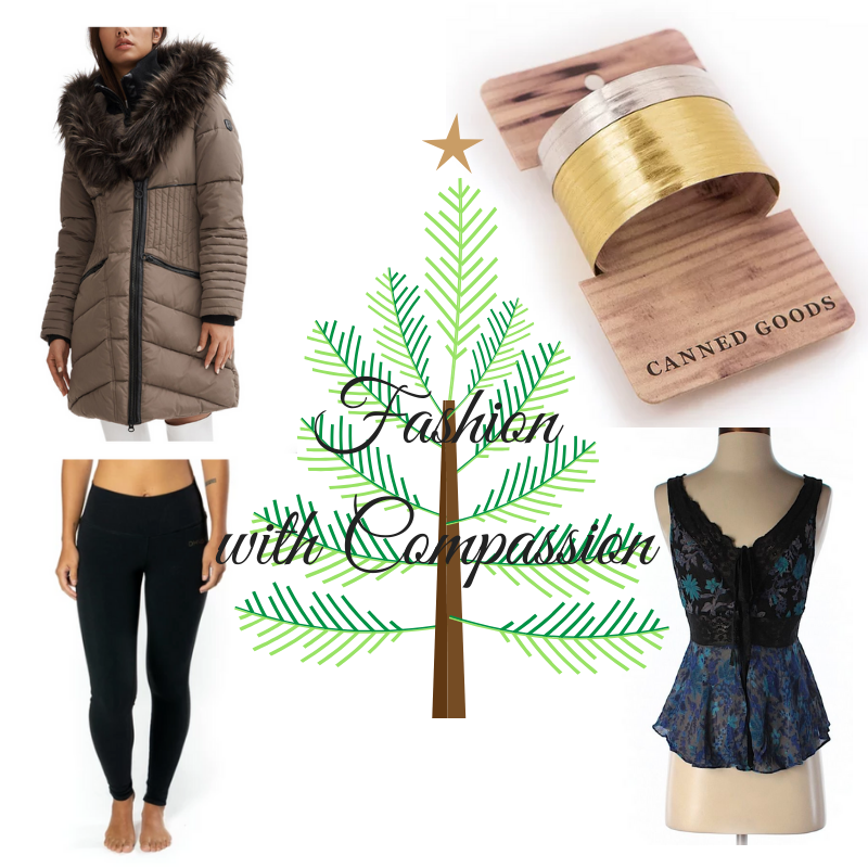 holiday gift guide vegan fashion