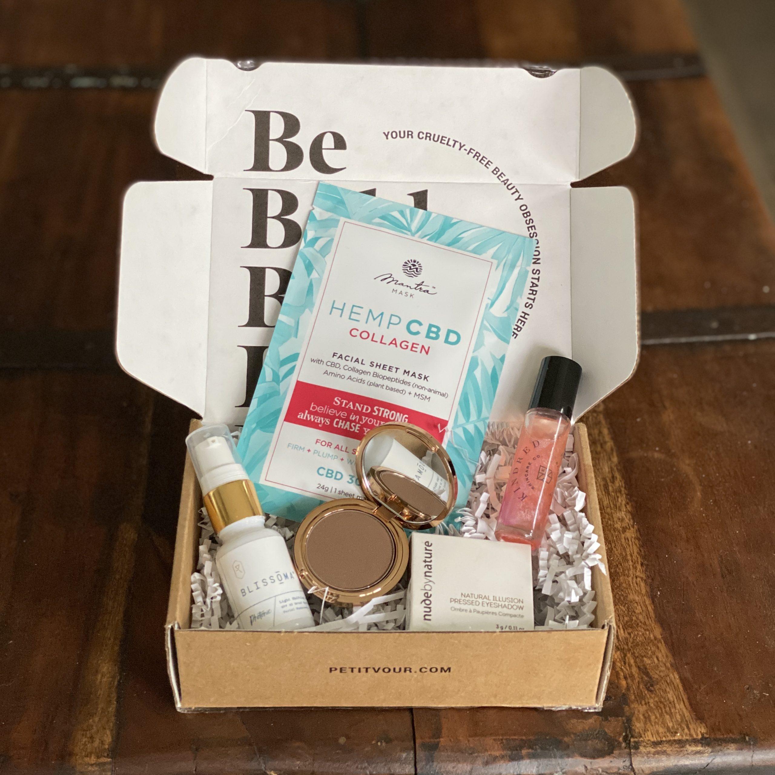 Petit Vour beauty box July 2020