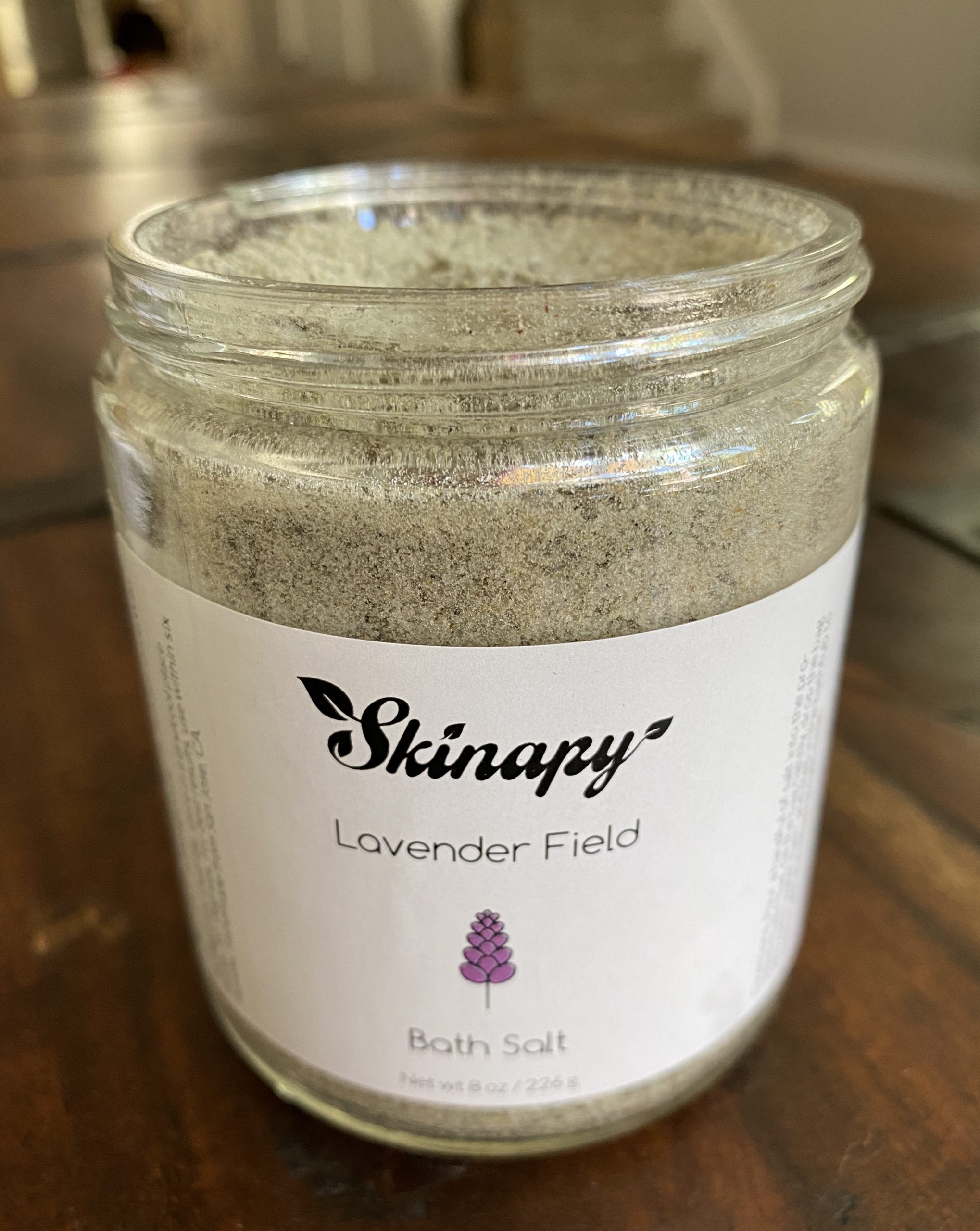 Skinapy Lavender Field Bath salts