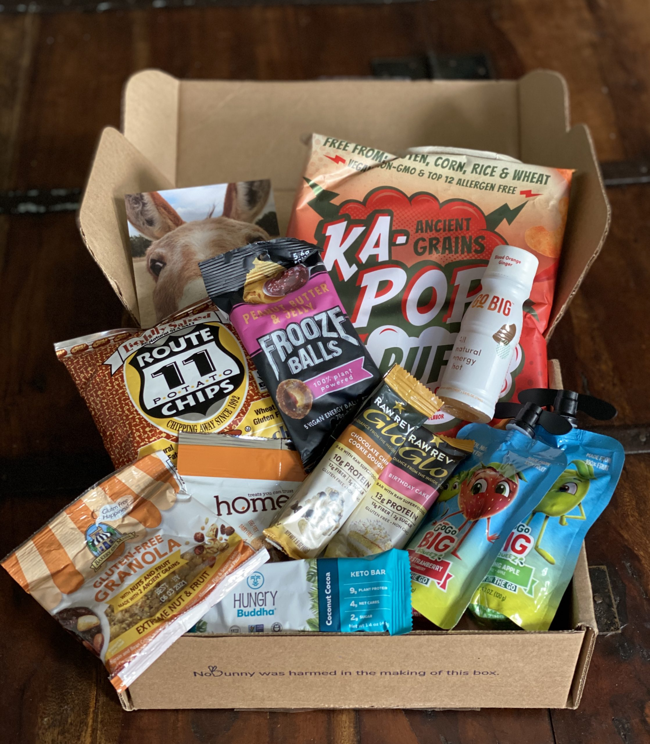 vegan cuts snack box august 2020
